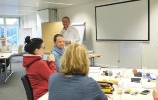 Grundausbildung Coaching Studiengang - Impression aus dem Unterricht